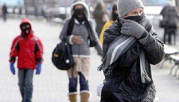 Gran parte del país con ambiente muy frío por mañana y noche