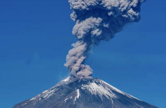 Popocatépetl, entre los cinco volcanes que más gases emiten a la atmósfera