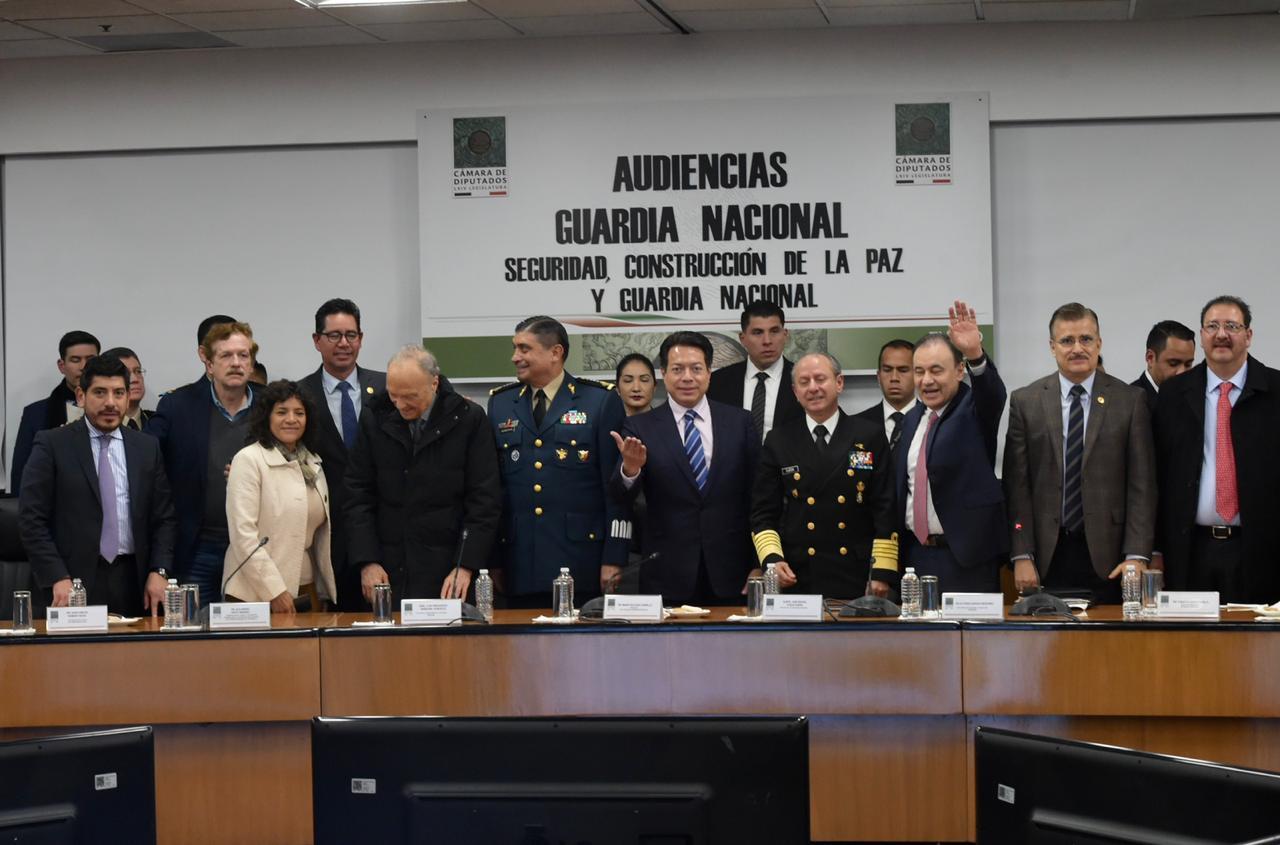 Asumiremos la sugerencia del ejecutivo y de muchas voces para que la Guardia Nacional tenga mando civil: Mario Delgado