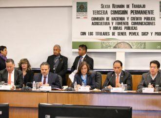Diputados se reúnen con titulares de Sener, Pemex, Unidad de Inteligencia Financiera y Profeco