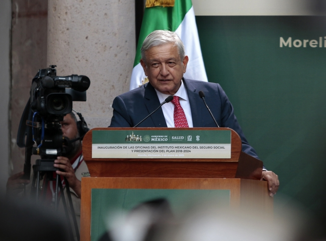Salud y seguridad, retos del Gobierno Federal, afirma López Obrador