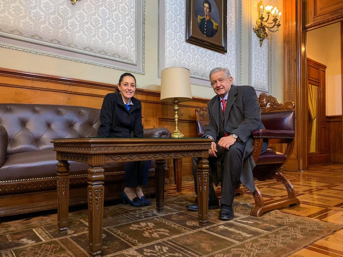Sheinbaum y AMLO dialogan sobre el apoyo a Pemex