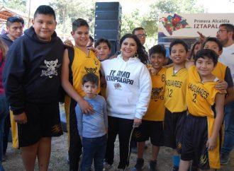 """Arranca Clara Brugada programa """"Date Color y Encánchate"""", para colocar a Iztapalapa como la alcaldía más deportiva"""