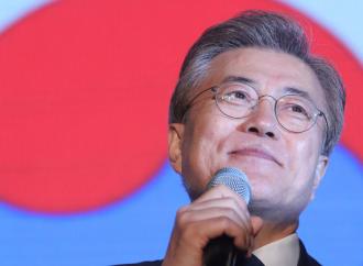 Moon Jae-in afirma Corea del Norte será desnuclearizada definitivamente
