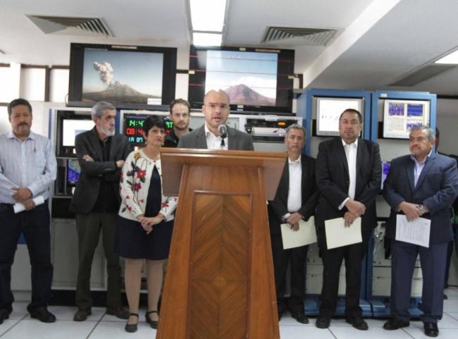 Actividad de volcán Popocatépetl entra en Semáforo de Alerta Fase 3