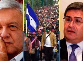 Desarrollo y migración, temas claves en reunión México-Honduras