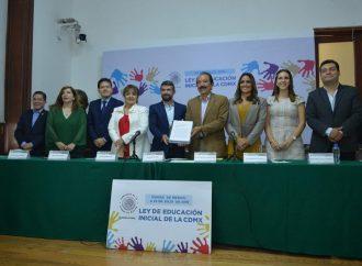 Presentan iniciativa de Ley de Educación Inicial en la CDMX, histórica en su tipo
