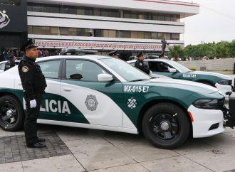 Presentan las 113 nuevas patrullas en la Alcaldia GAM
