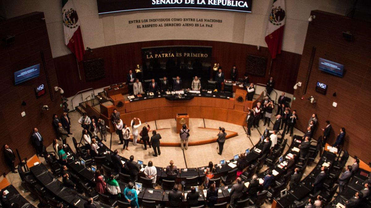 Morena invalida elección de presidencia de la Mesa Directiva en el Senado