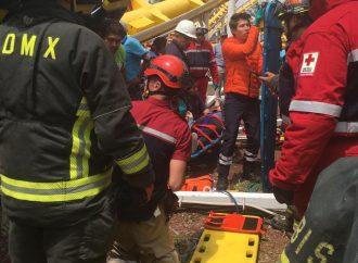 """Accidente deja dos muertos en """"La Feria de Chapultepec"""""""