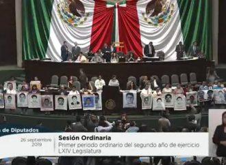 Exigen madres y padres de los 43 de Ayotzinapa a Diputados vigilen las nuevas investigaciones