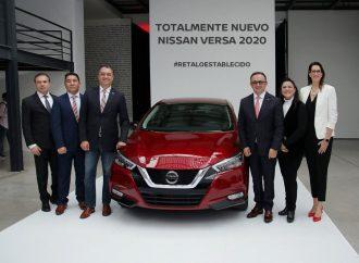 Nissan celebra el lanzamiento de Versa 2020