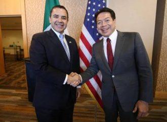 T-MEC, seguridad y migración, temas de la Reunión Interparlamentaria México-EU: Mario Delgado