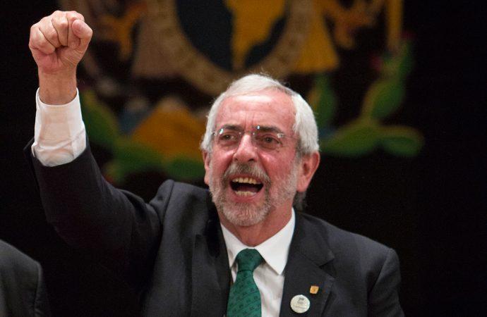 Reeligen a Enrique Graue para un segundo periodo al frente de la UNAM