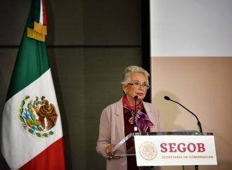 Sánchez Cordero pide mejor coordinación con estados para enfrentar trata