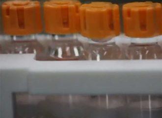 Vacuna de Pfizer sale de fábrica, a la espera de permiso final
