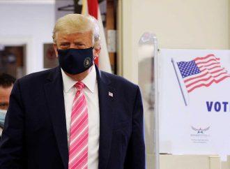 Trump vota por anticipado en Florida para las presidenciales