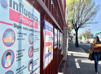 Tláhuac, sin dosis suficientes de vacuna contra influenza