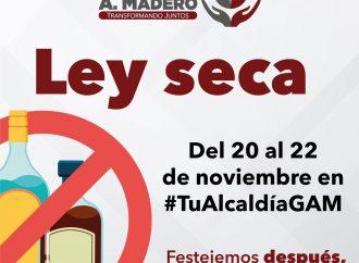Ley seca se extiende a la Gustavo A. Madero