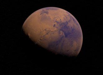 Encuentran un ángel dibujado en Marte; comparten foto