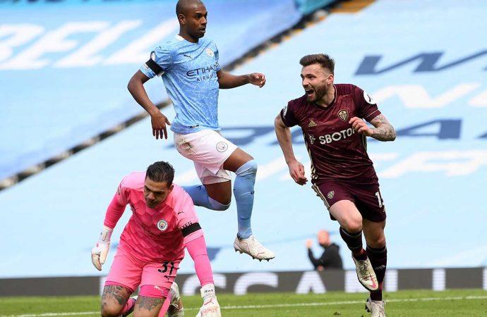 Un resultado loco; Leeds derrota al Manchester City