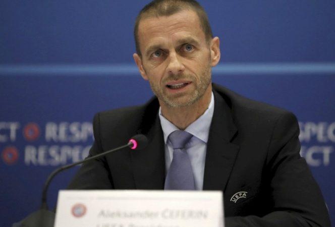 Presidente de UEFA tunde con todo a la Superliga
