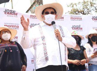 Propone candidato morenista creación de vivero para mujeres