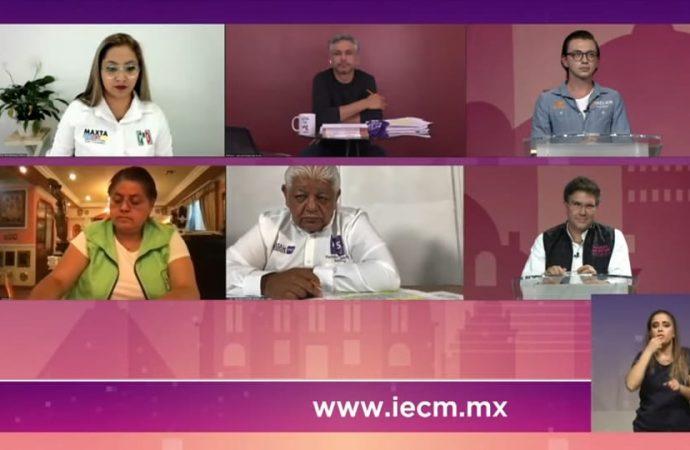 Se la recetan en debate chilango a Morena por la Cuauhtémoc
