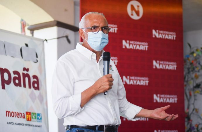 Navarro Quintero perfila plan de gobierno para Nayarit ante inminente ventaja