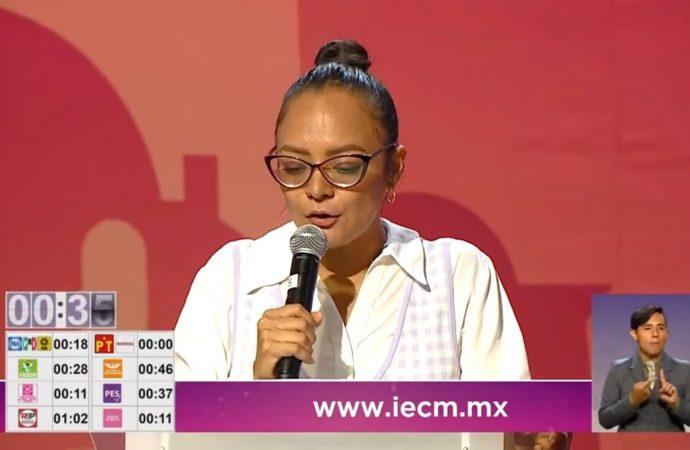 Inversión pública y privada, clave para impulsar el bienestar en la Cuauhtémoc: candidata del PES