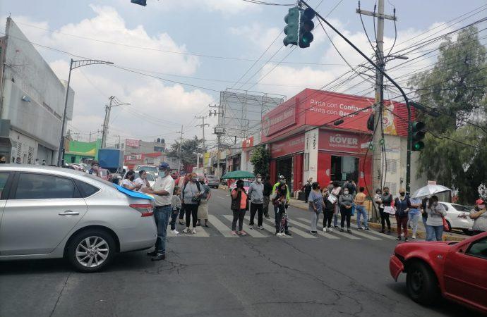 Dejan sin agua a vecinos de Álvaro Obregón