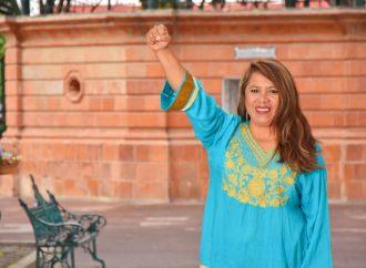 Ofrece Guadalupe Tiro, acabar con la inseguridad en Cholula