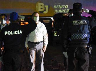 """""""En Benito Juárez vamos a redoblar los esquemas de seguridad"""": alcalde Santiago Taboada"""