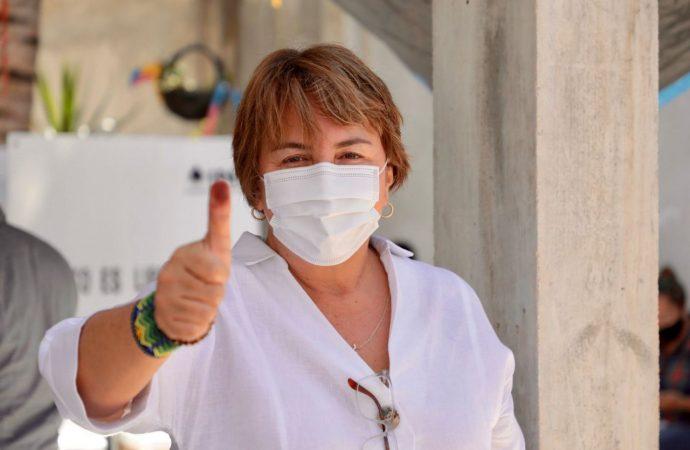 Estamos de pie y defenderemos nuestro triunfo robado: Laura Beristain