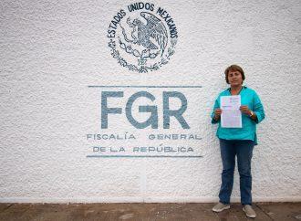 Interpone Laura Beristain ante FGR denuncia por el delito de violencia política contra la mujer en razón de género