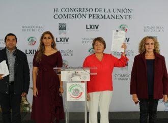 La alcaldesa de Solidaridad, Laura Beristain, denunció violencia política de género por parte del Gobernador y el Fiscal General de Quintana Roo