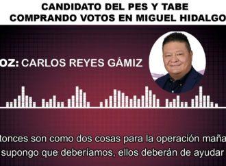 Tabe y sus candidatos compran votos en Miguel Hidalgo