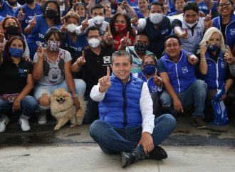 Concluye campaña e inicia el cambio para Coyoacán: GIOVANI GUTIÉRREZ