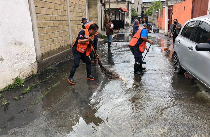 ALCALDÍA XOCHIMILCO ATIENDE A POBLACIÓN AFECTADA POR LLUVIAS