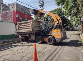 REALIZA XOCHIMILCO LABORES DE PREVENCIÓN EN TEMPORADA DE LLUVIAS