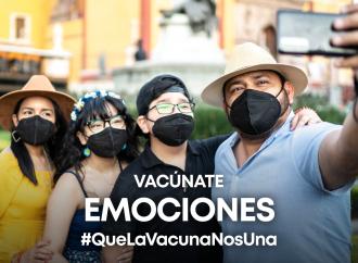 Raperos urbanos incentivan la vacunación en el Metro de la CDMX