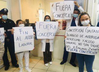 """EXIGEN DESTITUCIÓN DE DIRECTORA Y JEFA DE ENFERMERAS EN HOSPITAL """"EMILIANO ZAPATA"""""""