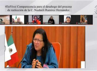 Inicia el proceso para ratificar a la titular de la Comisión de Derechos Humanos de la capital