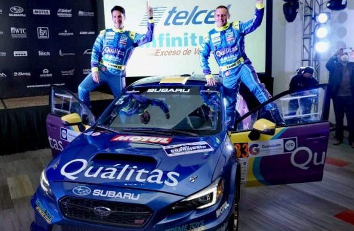 El Quálitas Subaru Rally Team hará historia con Pancho Name y Armando Zapata