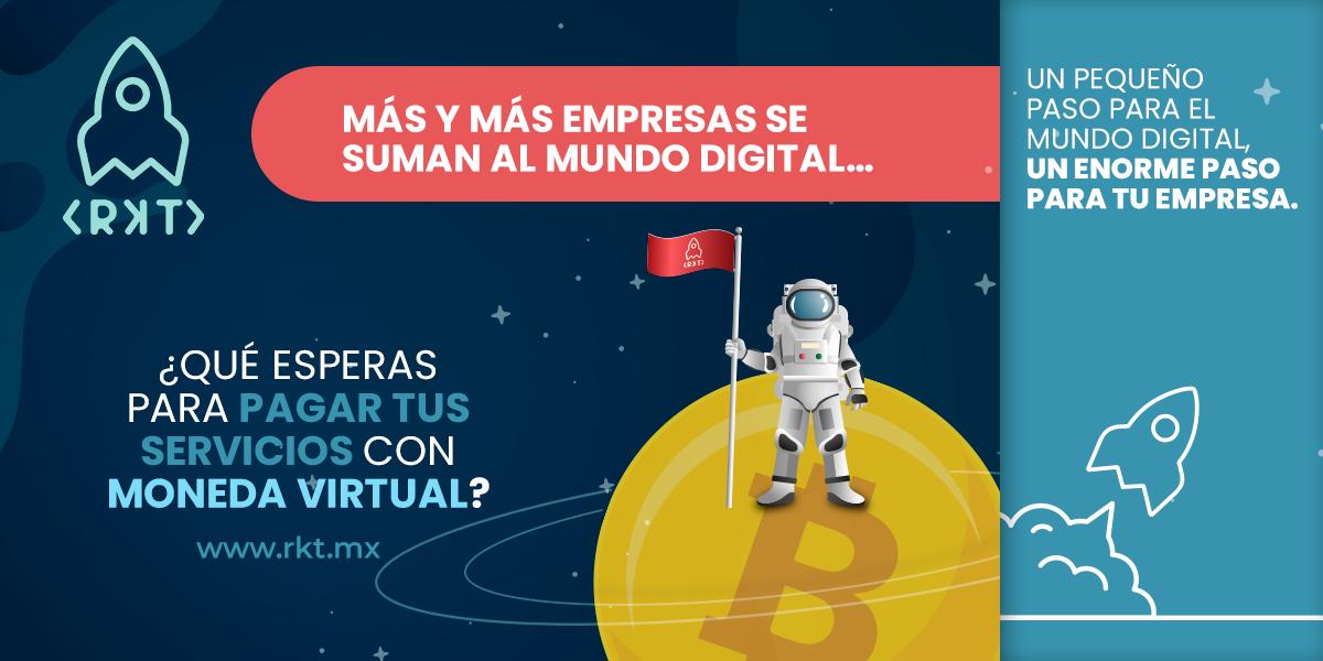 RKT hace posibles los pagos de marketing con bitcoin en México