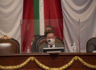Quedan integrados los grupos parlamentarios en Congreso local