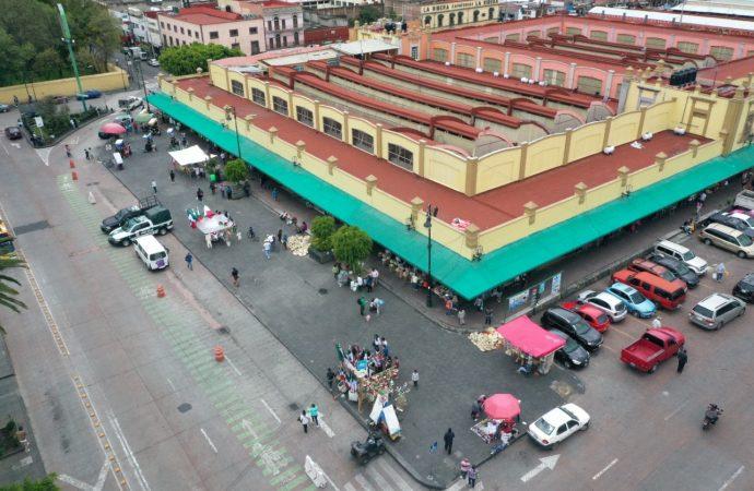 Liberan de ambulantes primer cuadro de Xochimilco